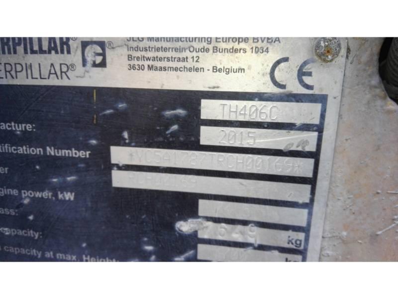 CATERPILLAR MOVIMENTATORI TELESCOPICI TH406C equipment  photo 2