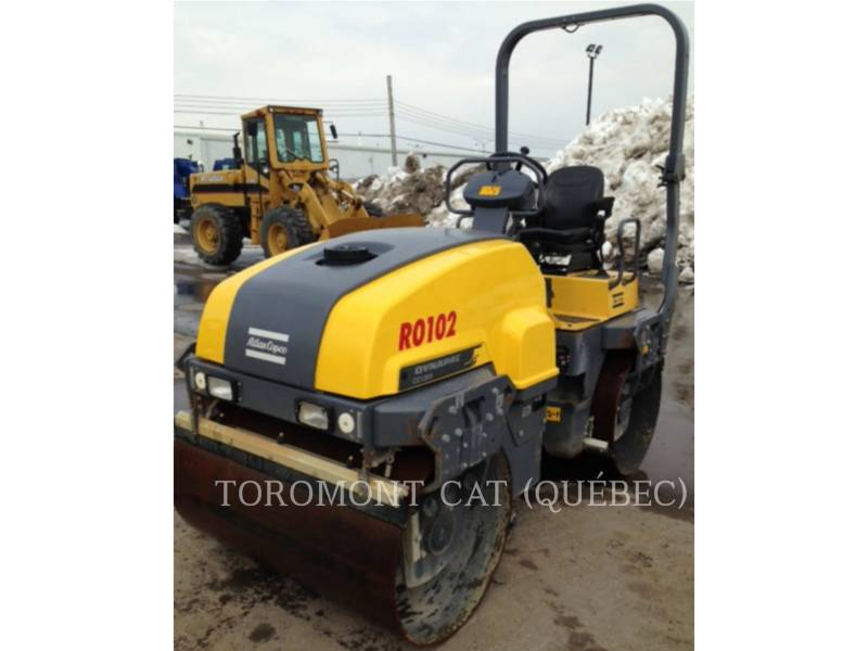 ATLAS-COPCO VIBRATORY DOUBLE DRUM ASPHALT CC1300 equipment  photo 1