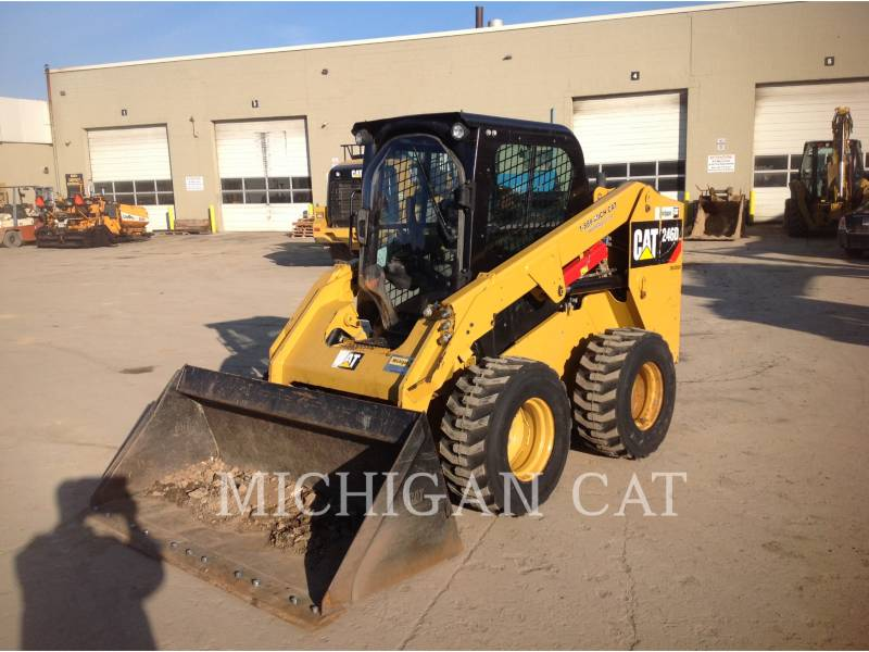 CATERPILLAR MINICARGADORAS 246D C2Q equipment  photo 1