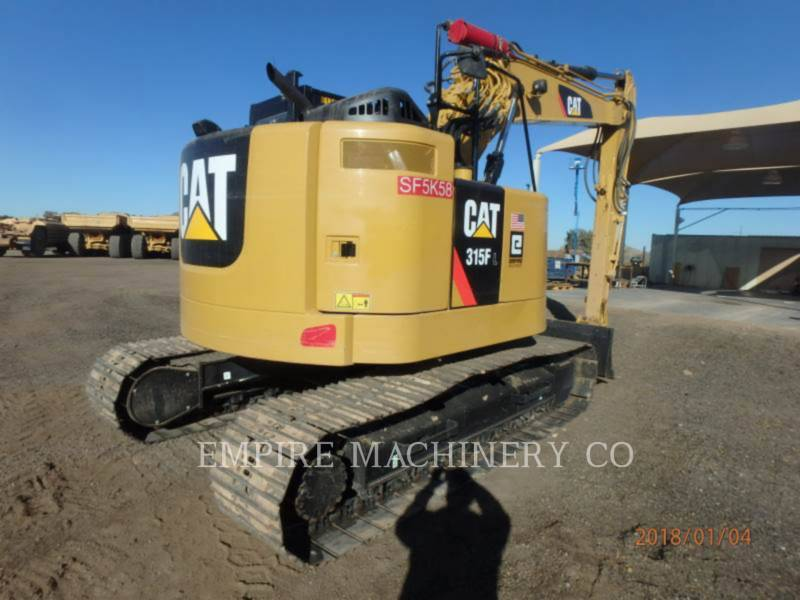 CATERPILLAR TRACK EXCAVATORS 315FL    P equipment  photo 2