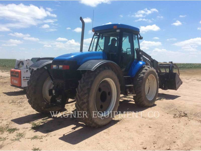 NEW HOLLAND LTD. AG TRACTORS TV145 equipment  photo 4