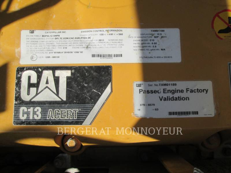 CATERPILLAR PELLES SUR CHAINES 349ELVG equipment  photo 8