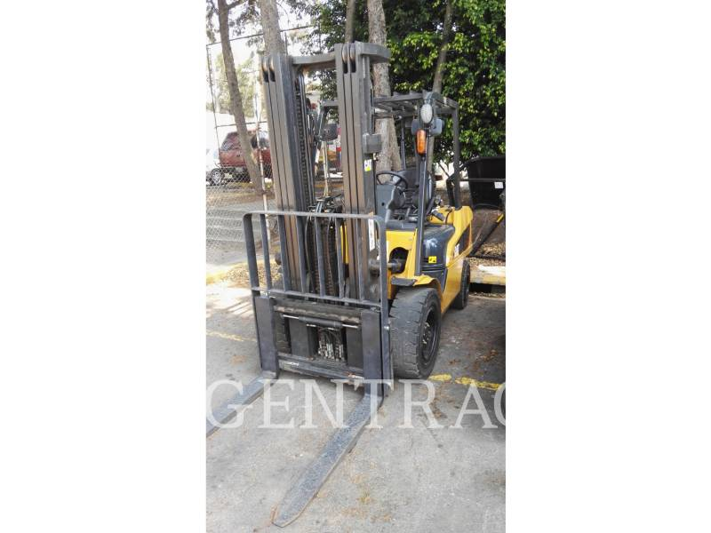 MITSUBISHI CATERPILLAR FORKLIFT CHARIOTS À FOURCHE GP35NM equipment  photo 1