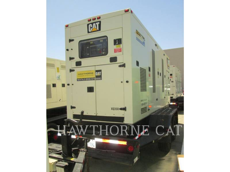 CATERPILLAR DRAAGBARE GENERATORSETS XQ 350 equipment  photo 2
