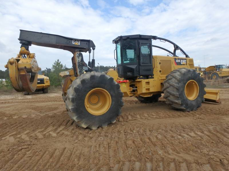 CATERPILLAR FORESTAL - ARRASTRADOR DE TRONCOS 555D equipment  photo 4