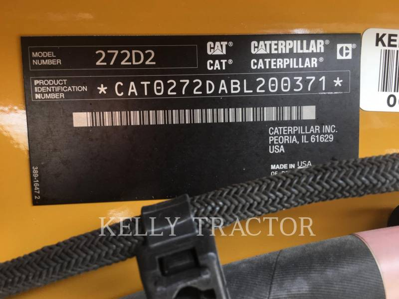CATERPILLAR SKID STEER LOADERS 272D2 equipment  photo 18
