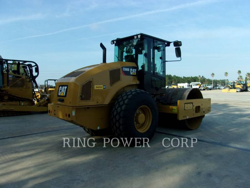 CATERPILLAR TANDEMVIBRATIONSWALZE, ASPHALT CS66BCAB equipment  photo 3