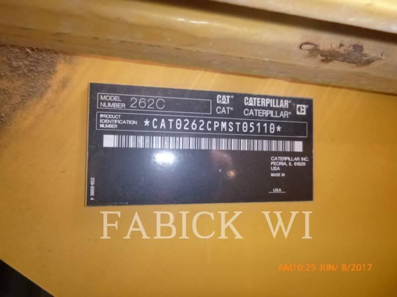 CATERPILLAR MINICARGADORAS 262C equipment  photo 2