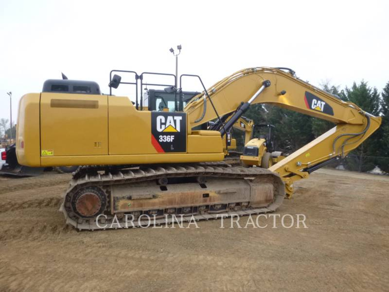 CATERPILLAR TRACK EXCAVATORS 336F QC equipment  photo 4