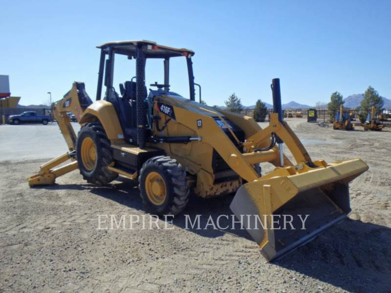 CATERPILLAR BAGGERLADER 416F2ST equipment  photo 1