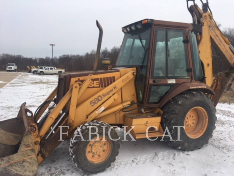 CASE BACKHOE LOADERS 580SK equipment  photo 2