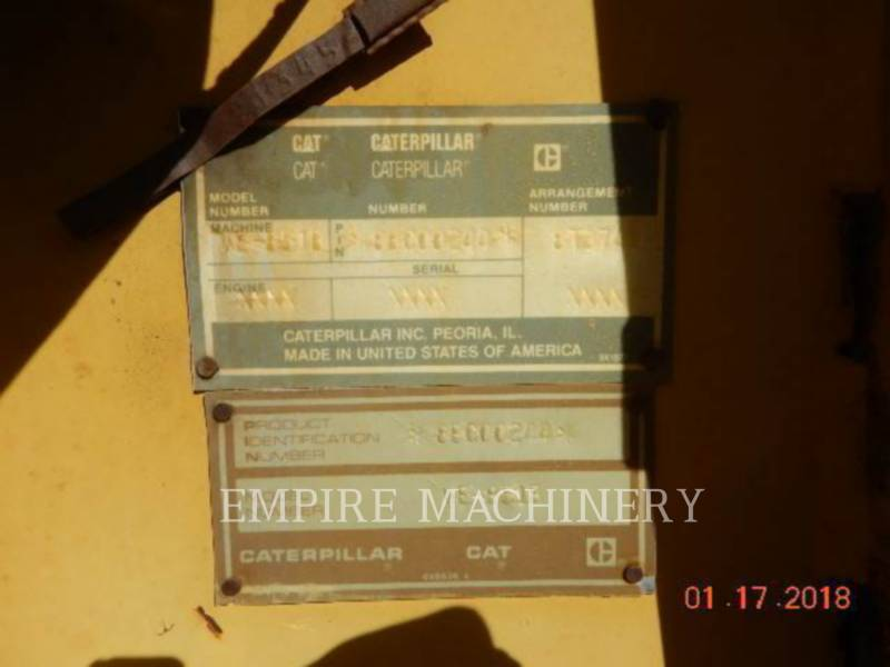 CATERPILLAR MACCHINE RACCOLTA DETRITI PAVIMENTAZIONE STRADALE WE-851B equipment  photo 2