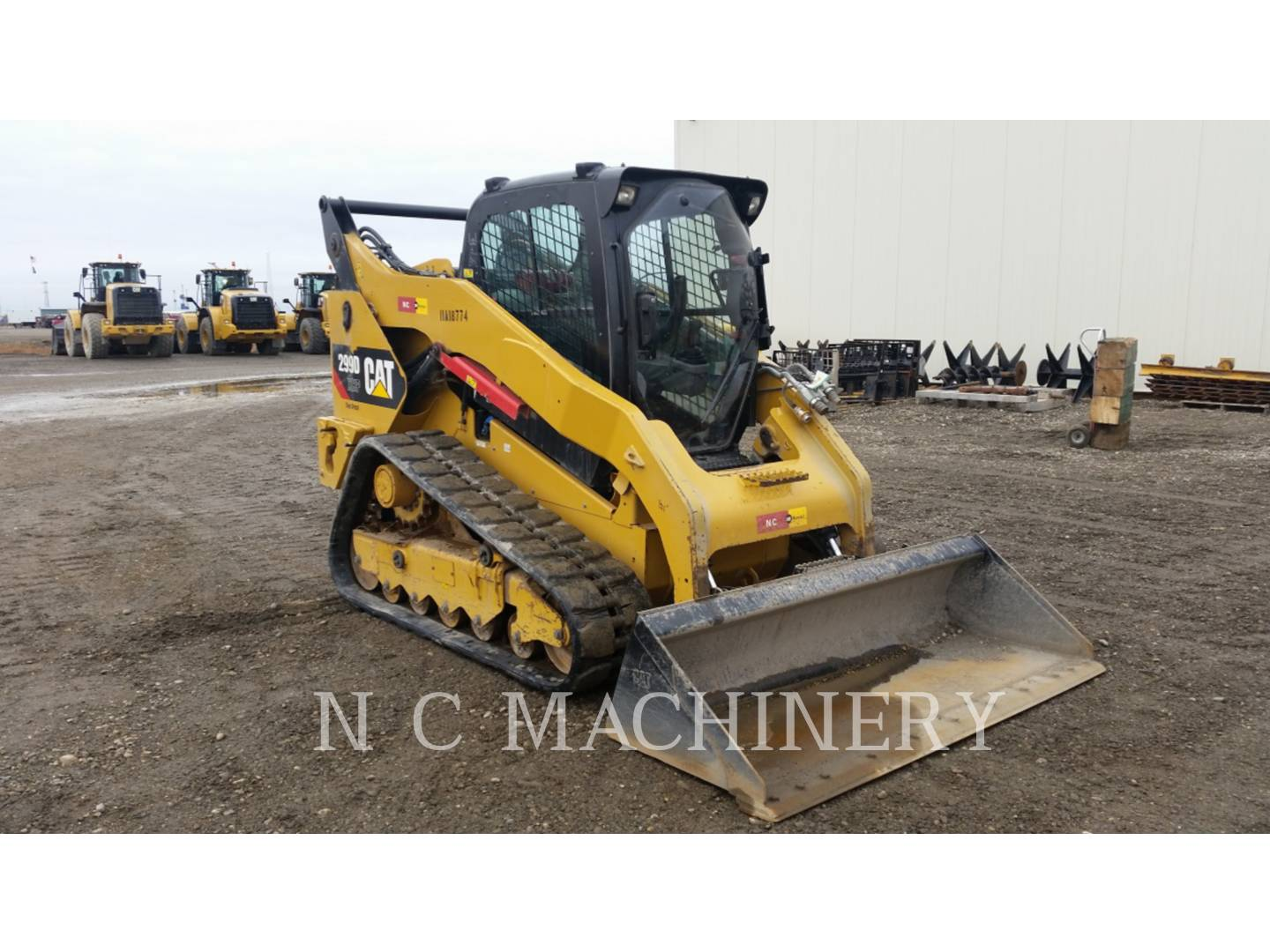 Detail photo of 2012 Caterpillar 299D from Construction Equipment Guide
