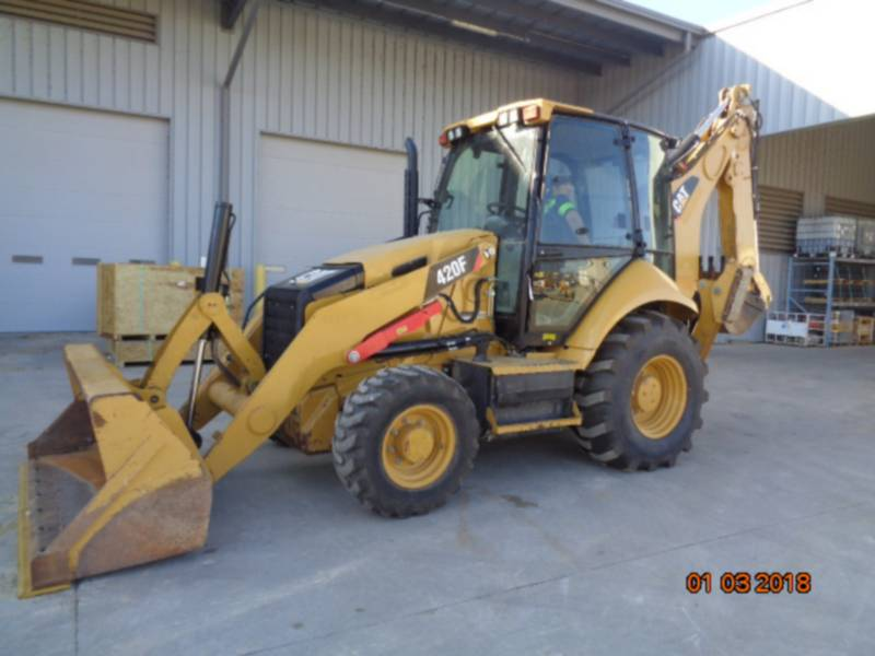 CATERPILLAR バックホーローダ 420FST equipment  photo 5