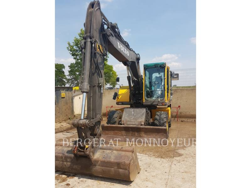 VOLVO CONSTRUCTION EQUIPMENT ホイール油圧ショベル EW140B equipment  photo 18