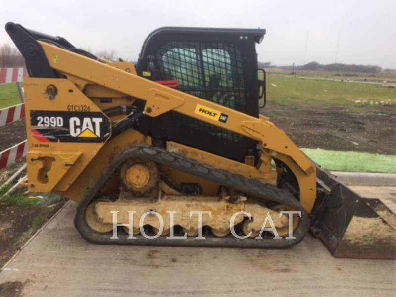 Caterpillar ÎNCĂRCĂTOARE PENTRU TEREN ACCIDENTAT 299D equipment  photo 1