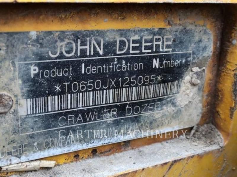 DEERE & CO. TRACK TYPE TRACTORS DER 650J equipment  photo 4