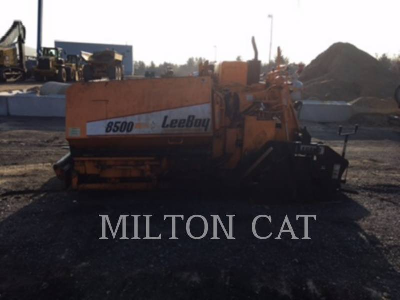 LEE-BOY ASPHALT PAVERS 8500LD equipment  photo 4