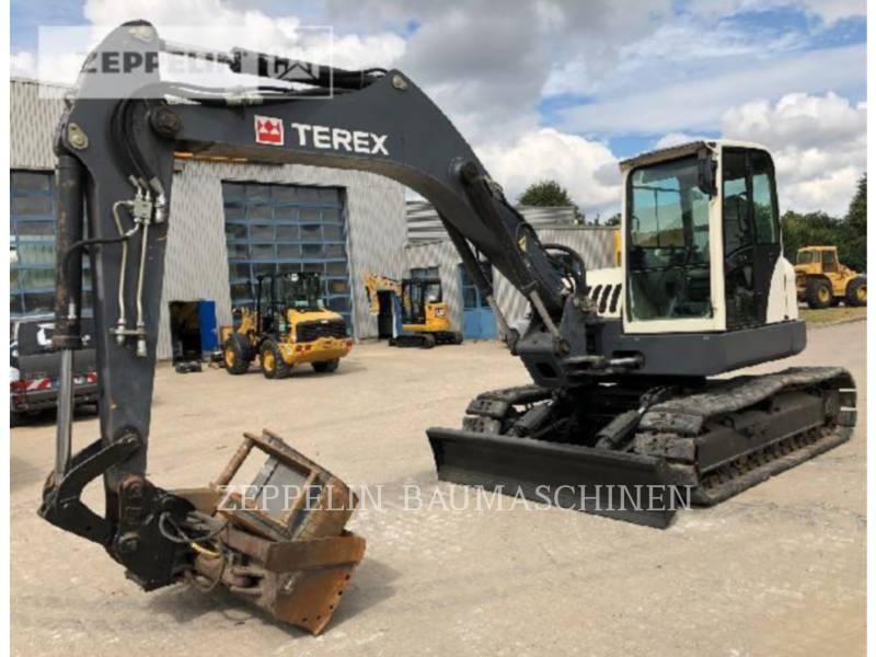 TEREX CORPORATION TRACK EXCAVATORS TC125 equipment  photo 1