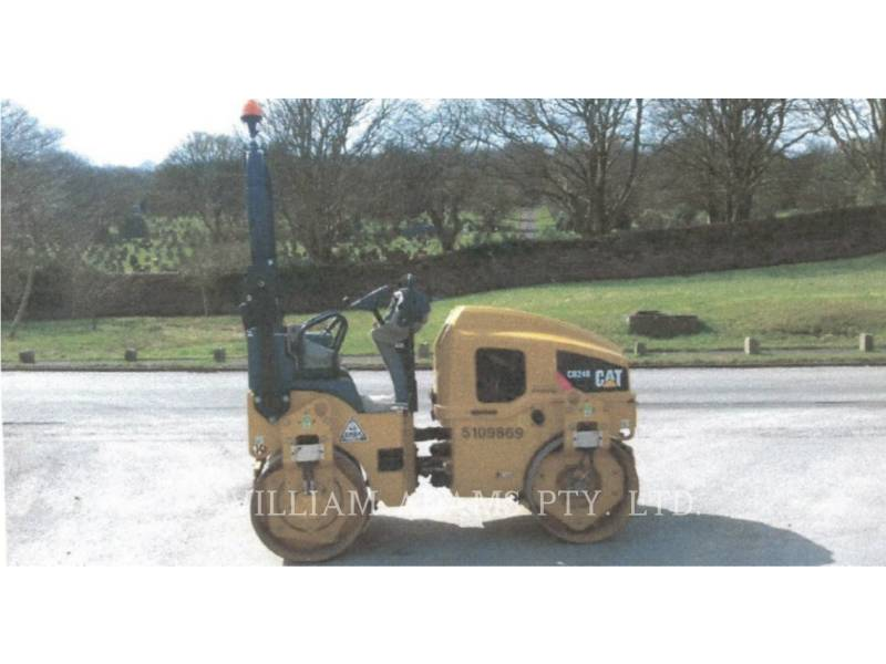 CATERPILLAR COMPATTATORE PER ASFALTO A DOPPIO TAMBURO VIBRANTE CB24BLRC equipment  photo 3