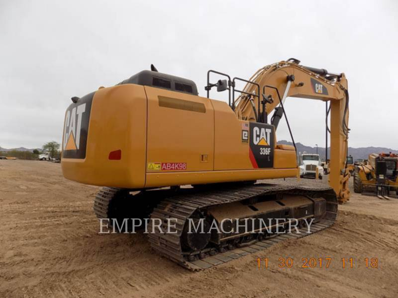 CATERPILLAR EXCAVADORAS DE CADENAS 336FL equipment  photo 2