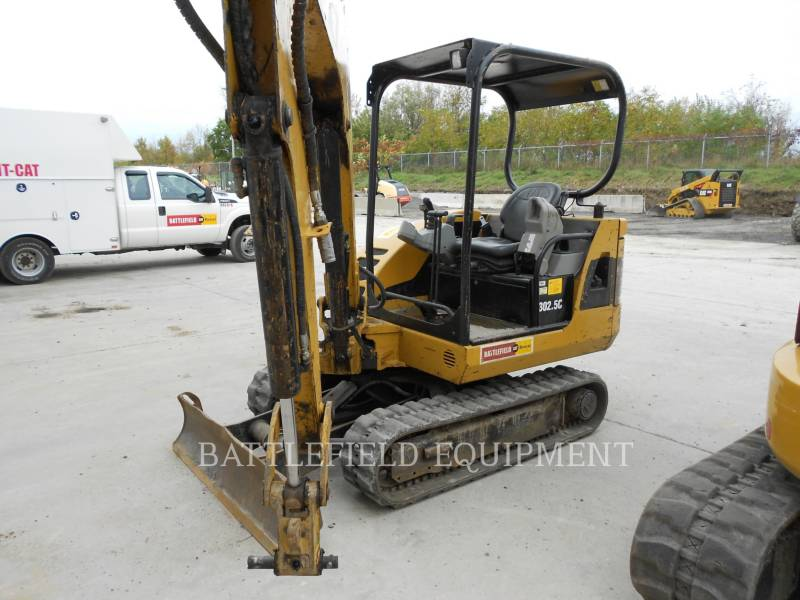 CATERPILLAR PELLES SUR CHAINES 302.5C equipment  photo 1