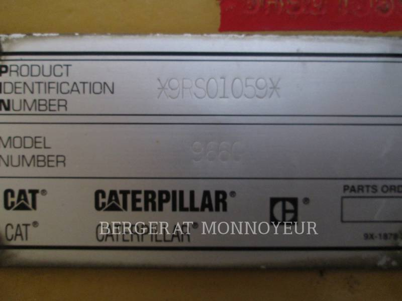 CATERPILLAR WHEEL LOADERS/INTEGRATED TOOLCARRIERS 966G equipment  photo 15