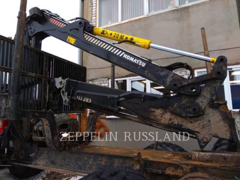 KOMATSU FORESTAL - TRANSPORTADOR DE TRONCOS 865 equipment  photo 13