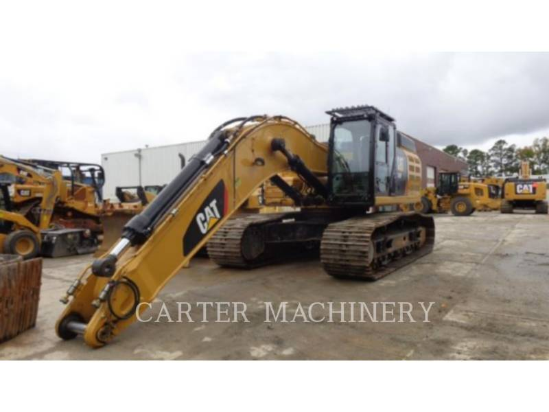 CATERPILLAR TRACK EXCAVATORS 349F 12 equipment  photo 2