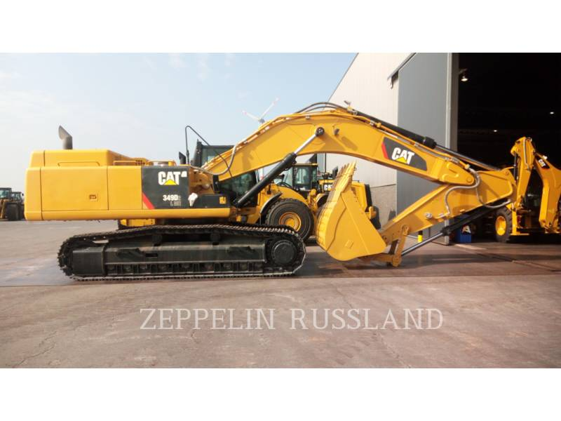 CATERPILLAR KETTEN-HYDRAULIKBAGGER 349D2L equipment  photo 1