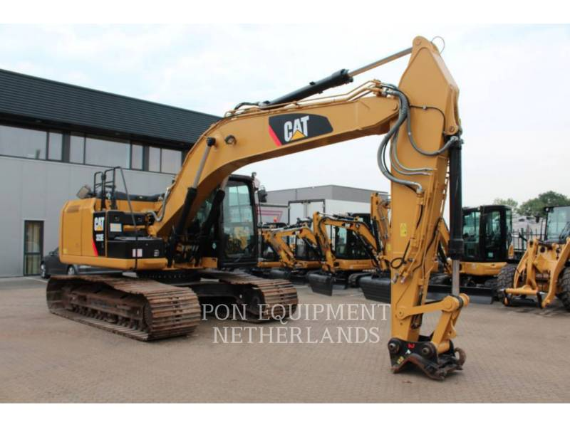 CATERPILLAR PELLES SUR CHAINES 323 EL equipment  photo 1