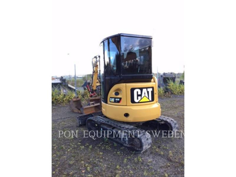 CATERPILLAR PELLES SUR CHAINES 303 E CR equipment  photo 1