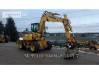 Equipment photo KOMATSU LTD. PW98MR PELLES SUR PNEUS 1