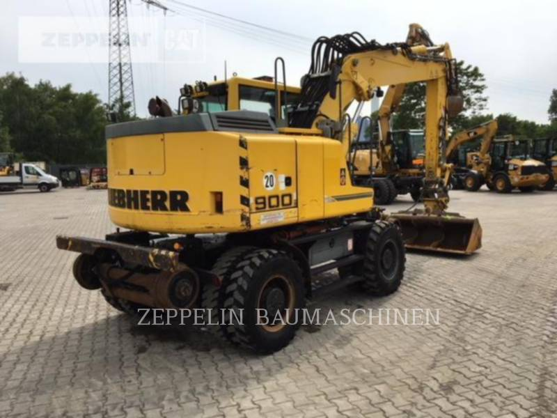 LIEBHERR ESCAVATORI GOMMATI A900C ZW L equipment  photo 7