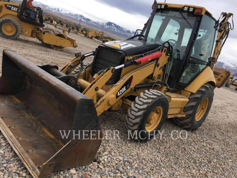 CATERPILLAR BAGGERLADER 420E ITECF equipment  photo 2