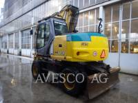 NEW HOLLAND LTD. KOPARKI KOŁOWE WE170 equipment  photo 3