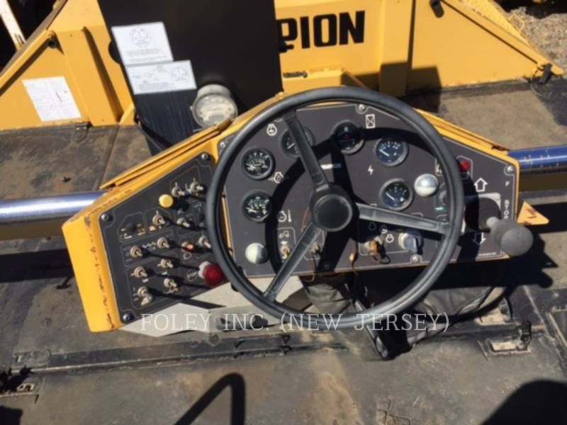 CHAMPION ASPHALT PAVERS 1110T equipment  photo 3
