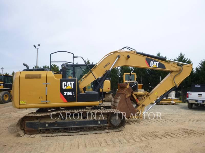 CATERPILLAR TRACK EXCAVATORS 316E equipment  photo 1