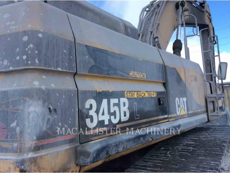CATERPILLAR トラック油圧ショベル 345BIIL equipment  photo 7