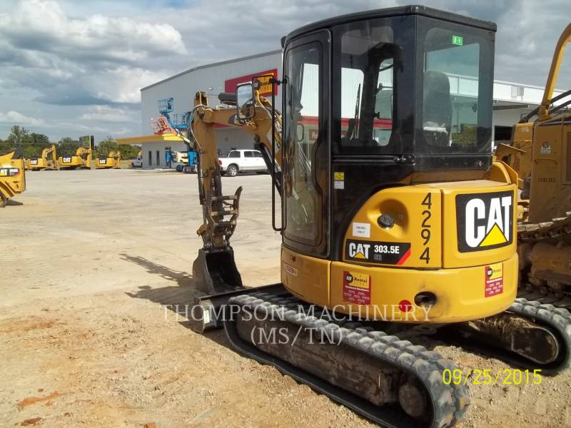 CATERPILLAR EXCAVADORAS DE CADENAS 303.5E equipment  photo 3