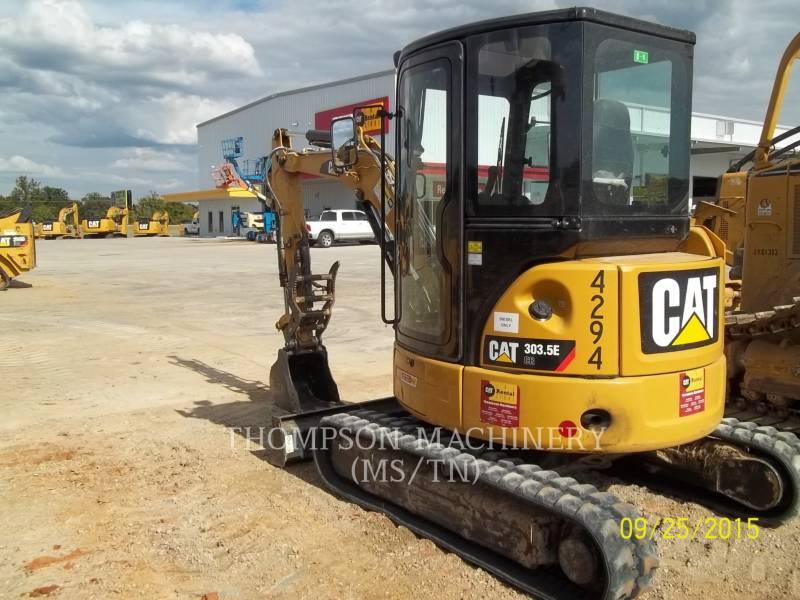 CATERPILLAR TRACK EXCAVATORS 303.5E equipment  photo 3