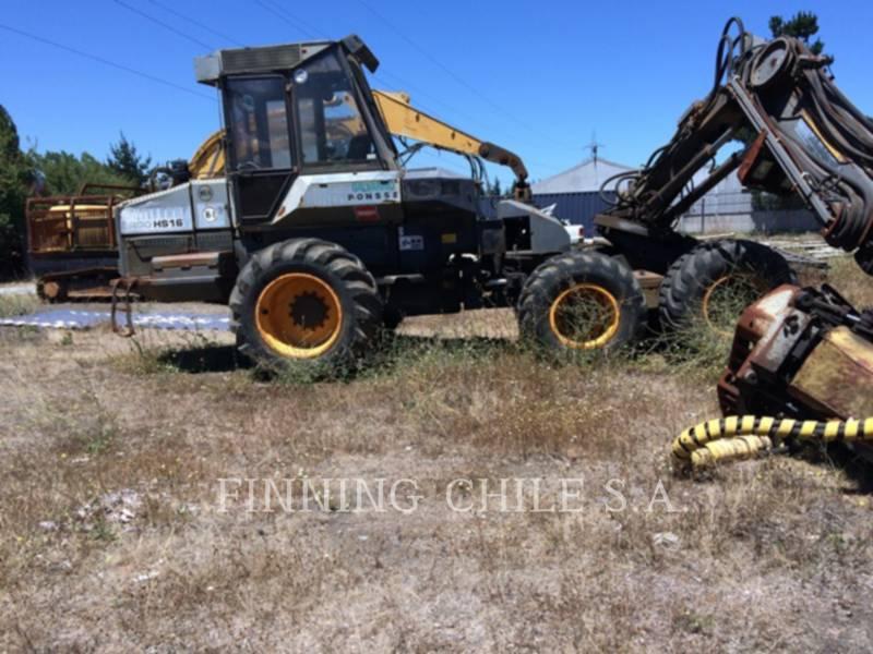PONSSE FORESTRY - FELLER BUNCHERS - WHEEL ERGO HS16 equipment  photo 14