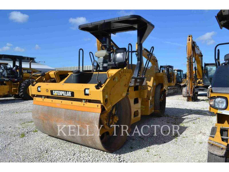 CATERPILLAR TANDEMVIBRATIONSWALZE, ASPHALT CB54 equipment  photo 5