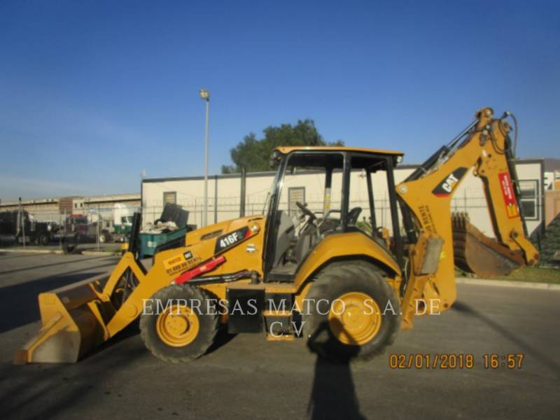 CATERPILLAR 挖掘装载机 416F2STLRC equipment  photo 3