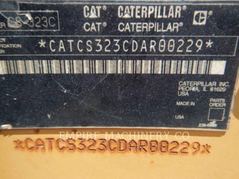 CATERPILLAR DRGAJĄCY POJEDYNCZY BĘBEN PODKŁAD. CS323C equipment  photo 7