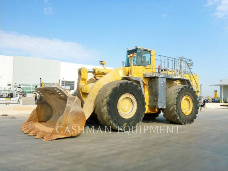 KOMATSU RADLADER/INDUSTRIE-RADLADER WA700-3 equipment  photo 1