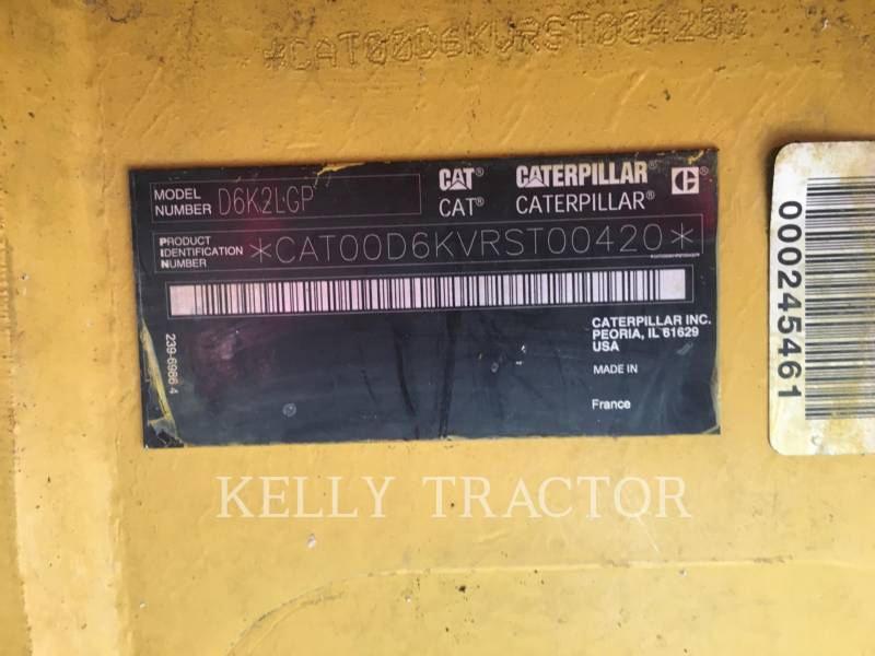 CATERPILLAR TRACK TYPE TRACTORS D6K2LGP equipment  photo 18
