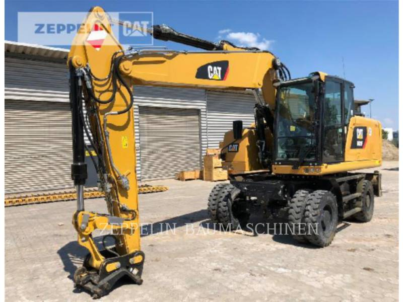 CATERPILLAR WHEEL EXCAVATORS M320F equipment  photo 1