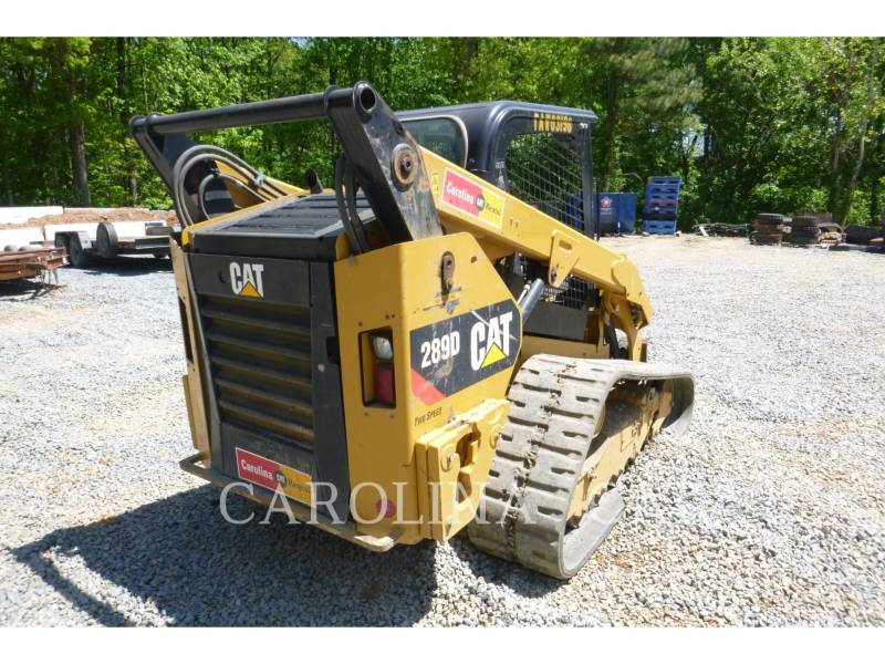 CATERPILLAR CARGADORES DE CADENAS 289D equipment  photo 4
