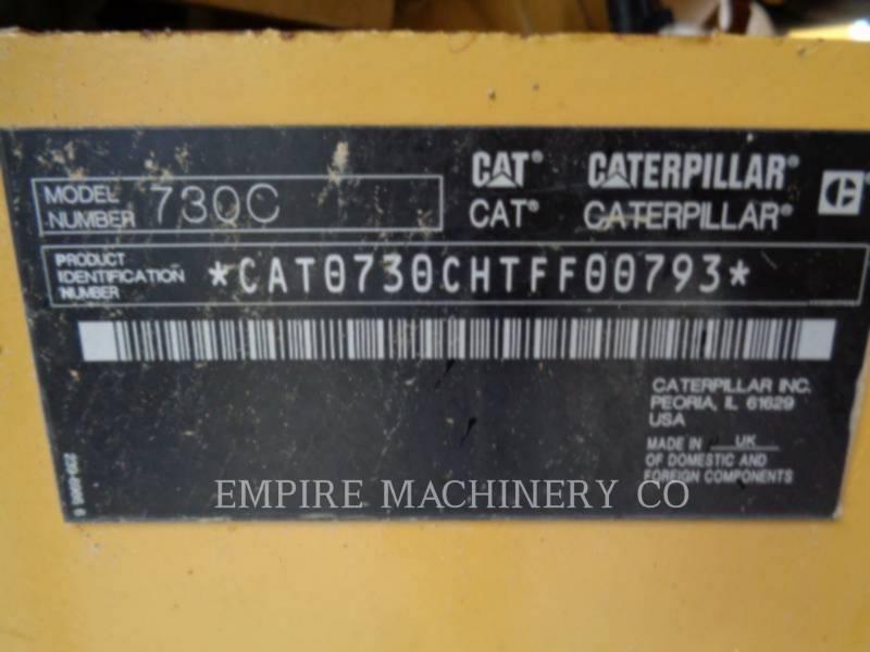 CATERPILLAR ダンプ・トラック 730C equipment  photo 11